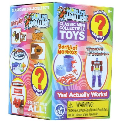 Super Impulse Worlds Smallest Classic Novelty Toy Series 4 | One Random