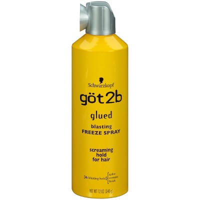 Hair Spray: got2b Glued Blasting Freeze Spray