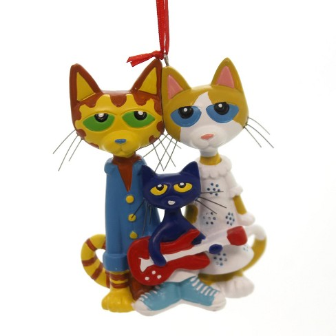 Pete The Cat Christmas.Holiday Ornaments 3 25 Pete The Cat Rock On Mom Dad Christmas James Dean