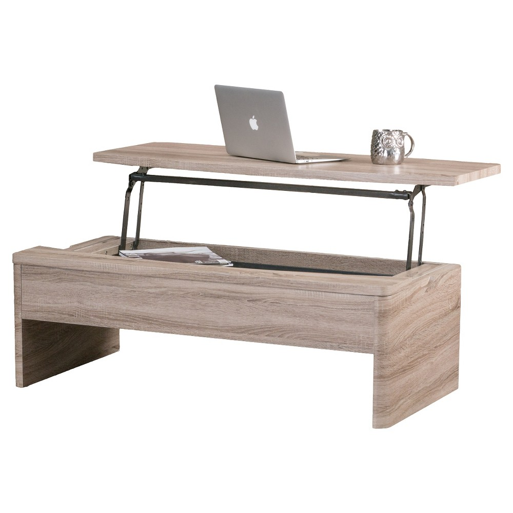 Xander Coffee Table Lift-Top - Christopher Knight Home, Sonoma Tan