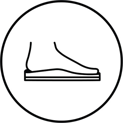 Contoured Footbed
