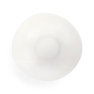 DEMDACO Textured Serving Bowl White