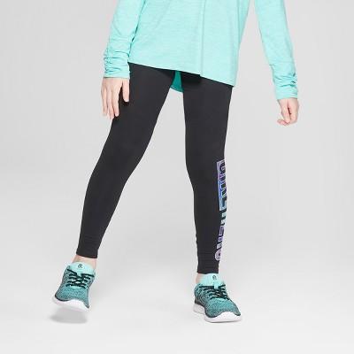 8225039aec1 Girls  Printed Performance Leggings – C9 Champion® Black Girl Hero S ...