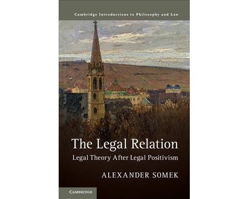 Legal Relation : Legal Theory After Legal Positivism -  by Alexander Somek (Hardcover) - image 1 of 1