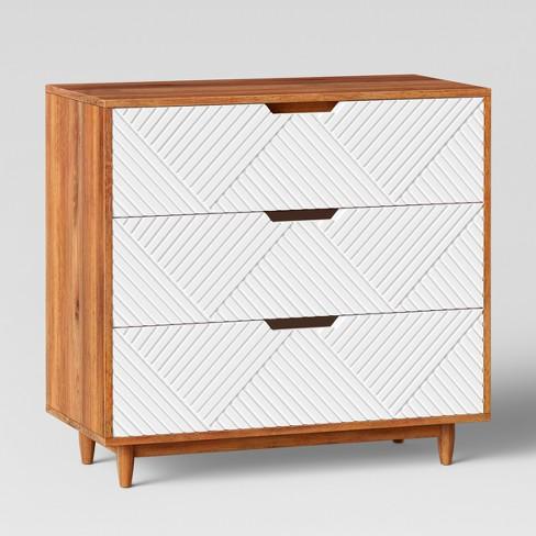 Touraco Dresser White Brown Opalhouse Target