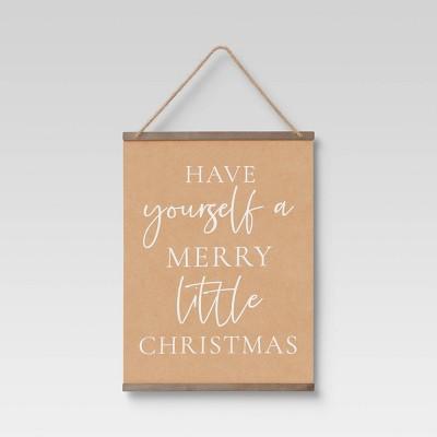 Jolly ST NICK Christmas Banner 16 x 24