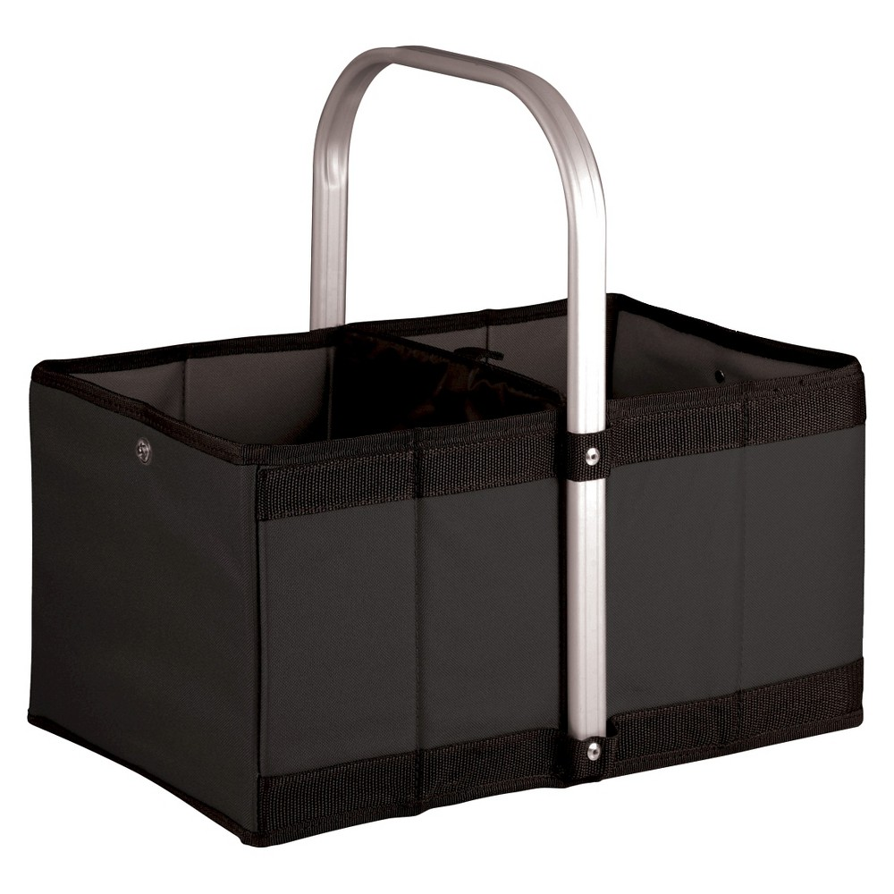 Image of Picnic Time Urban Collapsible Basket - Black
