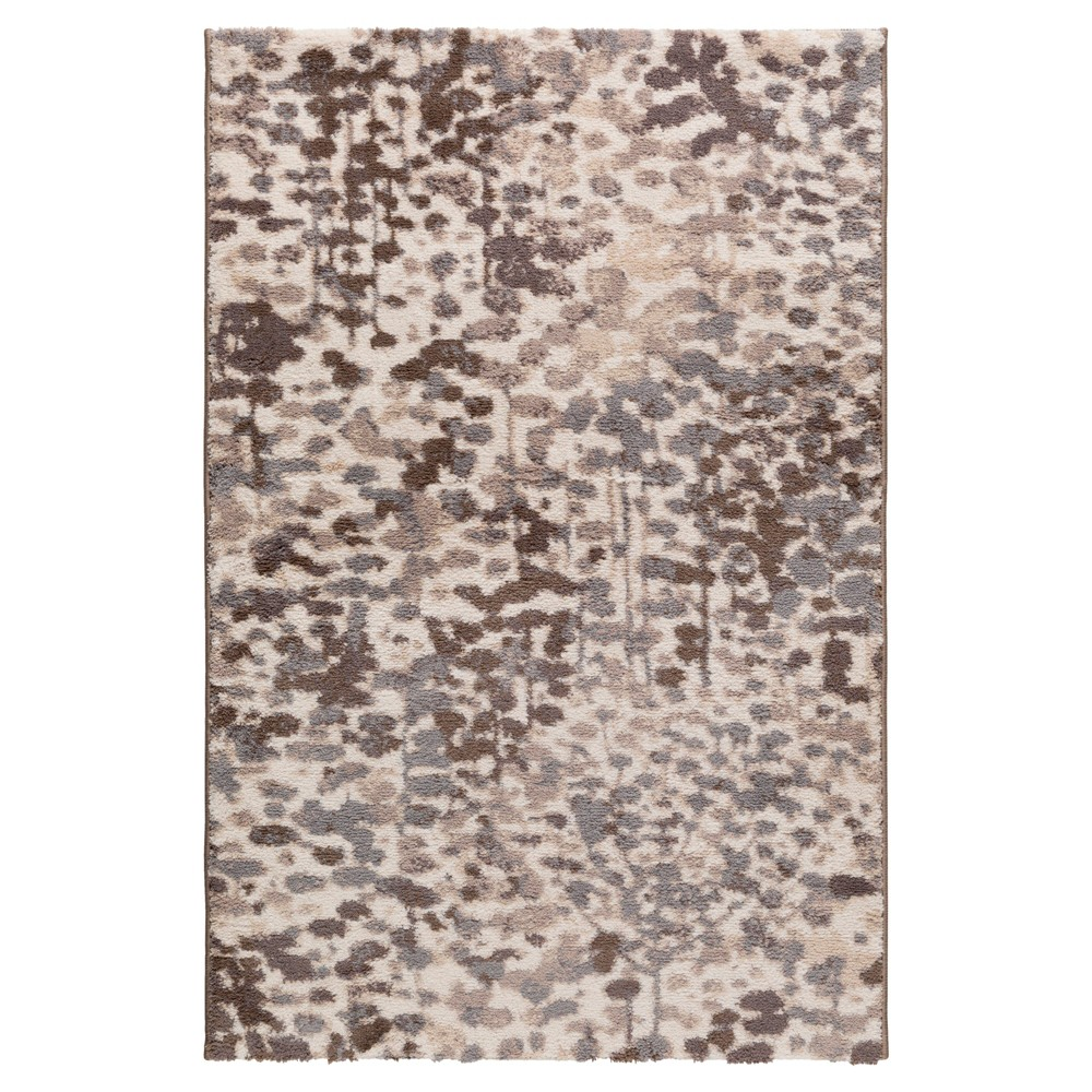 Gray Abstract Tufted Accent Rug - (2'X3') - Surya