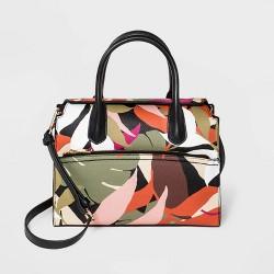 Magnetic Closure Satchel Handbag - A New Day™