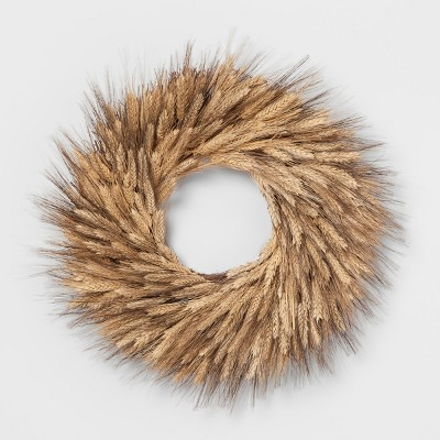 Wreath Dried Wheat - Threshold™ - Smith & Hawken™