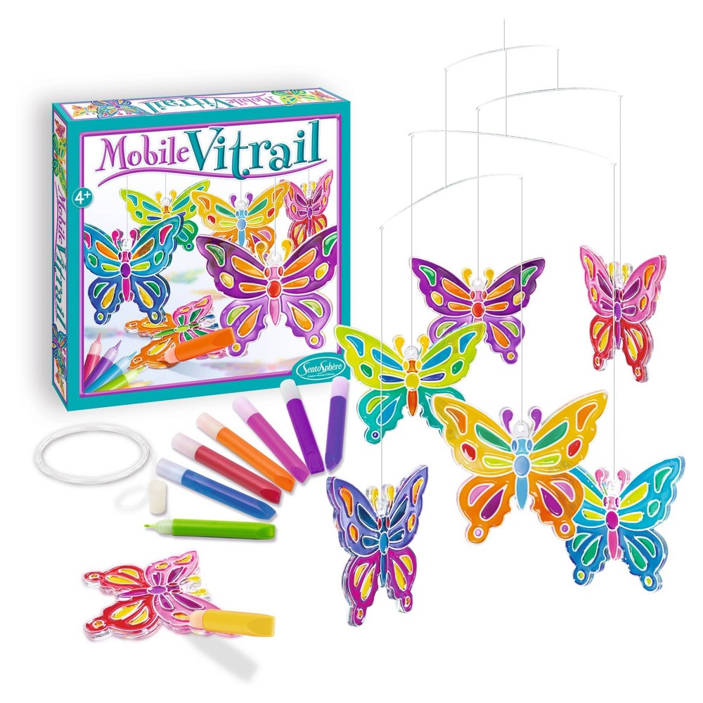 23ct Diy Art Kit Crystal Mobile Butterflies Sentosphere Usa