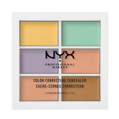 NYX Professional Makeup Color Correcting Palette - 0.15oz