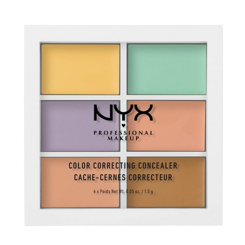 NYX Professional Makeup Color Correcting Palette - 0.15oz - image 1 of 4