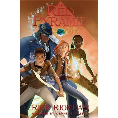 The Red Pyramid: The Graphic Novel - (Kane Chronicles Graphic Novels) by  Rick Riordan & Orpheus Collar (Paperback)