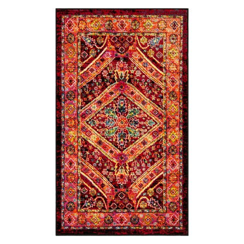 Irma Tribal Design Loomed Accent Rug - Safavieh - image 1 of 3