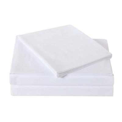 King Microfiber Everyday Sheet Set White - Truly Soft