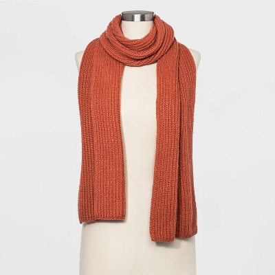 Women's Shaker Stitch Knit Scarf   A New Day™ Heather One Size by A New Day