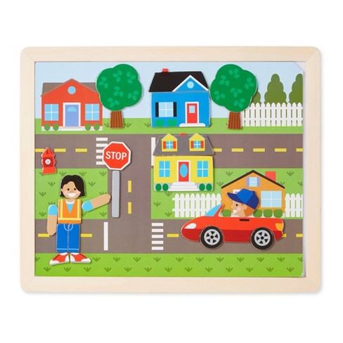 Melissa & Doug Magnetic Matching Picture Game 119pc - image 1 of 3