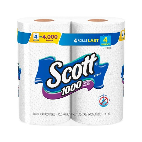 Scott Septic Safe Toilet Paper - 1000 Sheets/Roll - image 1 of 4
