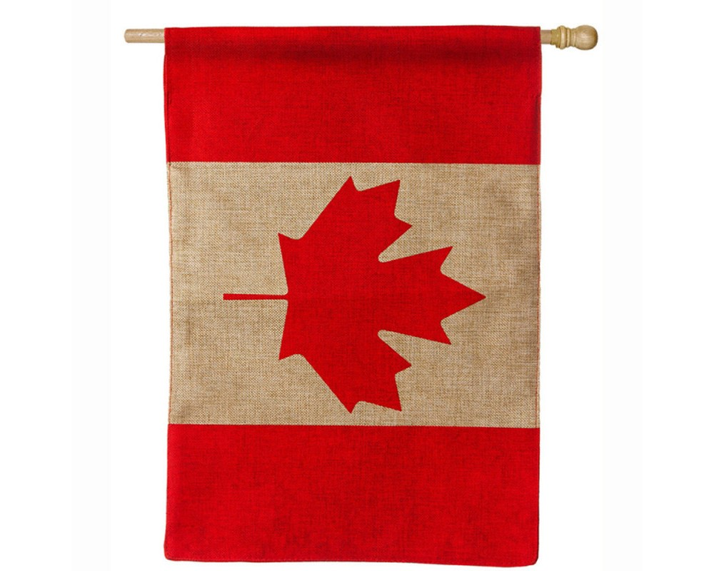 Image of 0.1 H Polyester Flag - Evergreen, Multi-Colored