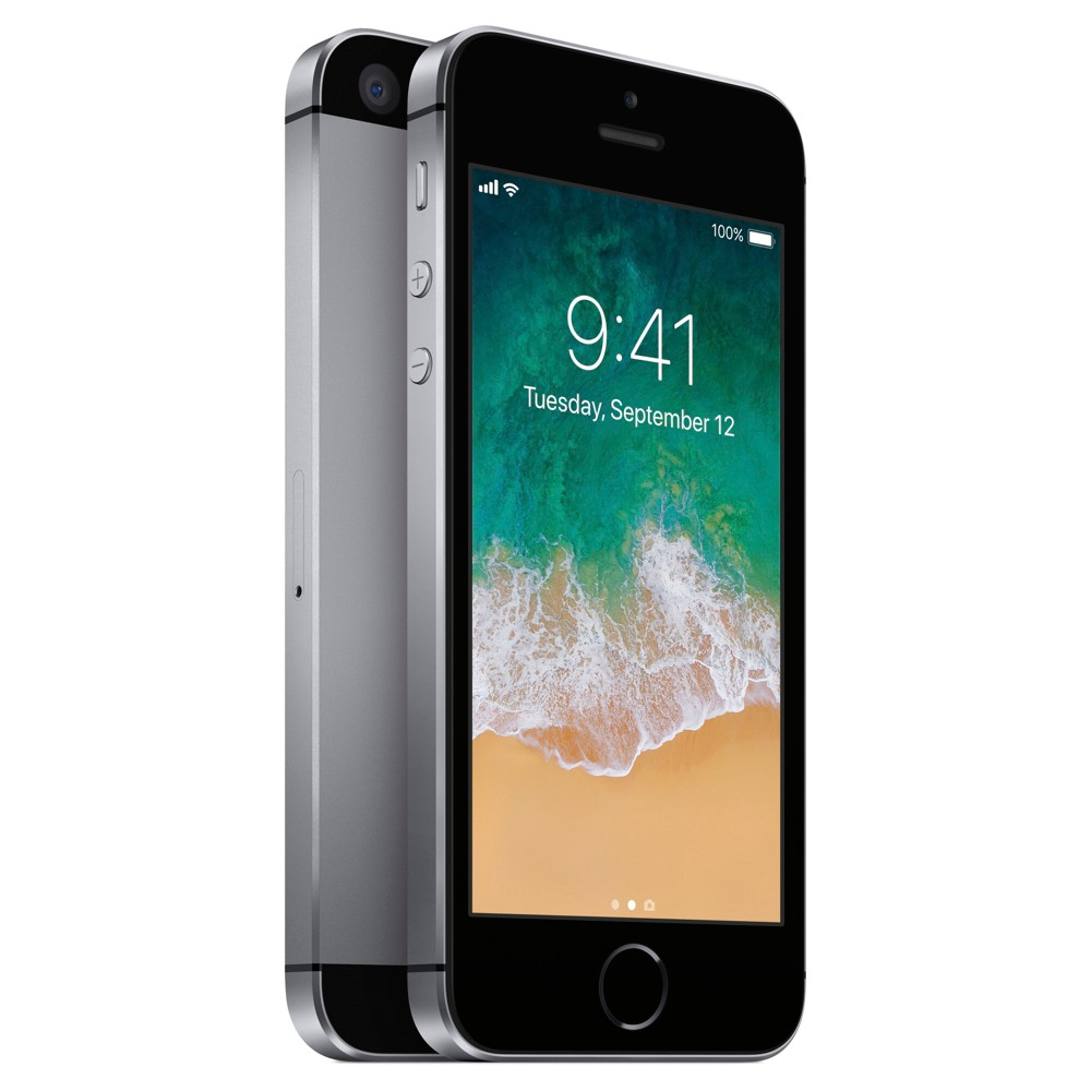 Apple iPhone SE 64GB Gsm Cell Phone (Unlocked) - Space Gray