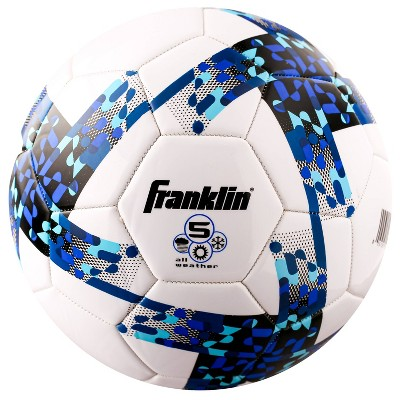 Franklin Sports All Weather Size 5 Soccer Ball - Blue