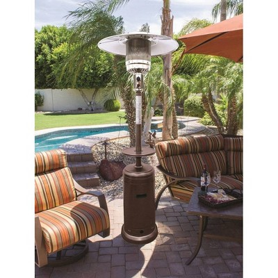 Hammered Portable Patio Heater - Golden Bronze - AZ Patio Heaters