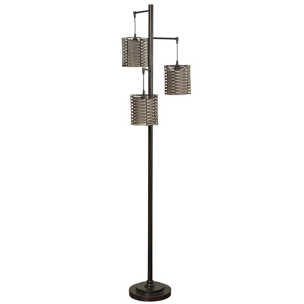 Contemporary Floor Lamp Bronze Cloud (Includes Light Bulb) - StyleCraft