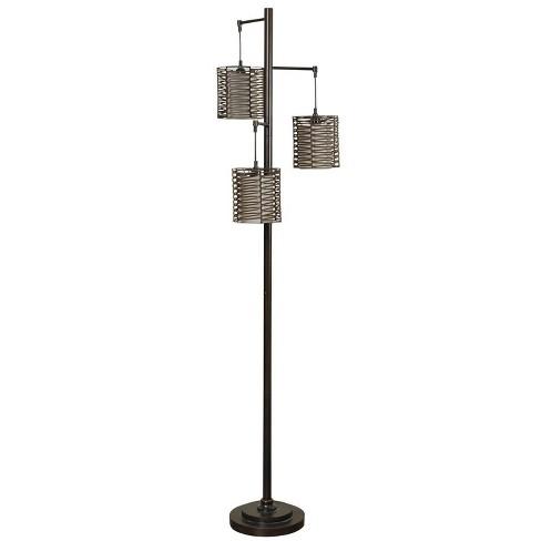 Contemporary Floor Lamp Bronze Cloud (Includes Light Bulb) - StyleCraft - image 1 of 1