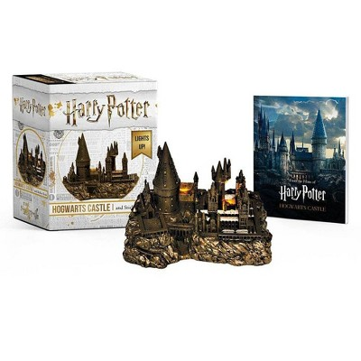 Harry Potter Hogwarts Castle and Sticker Book - (Rp Minis) by  Running Press (Paperback)