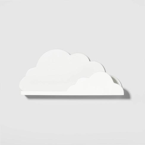 Cloud Decorative Wall Shelf White - Pillowfort™ - image 1 of 4