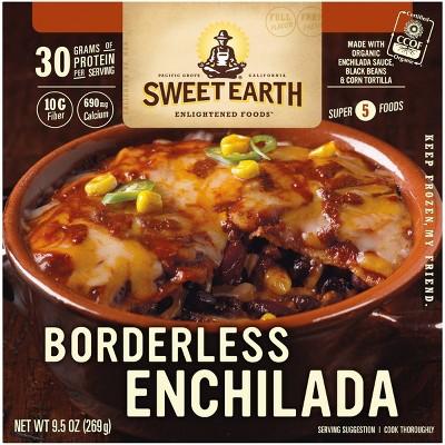Sweet Earth Frozen Borderless Enchilada - 9.5oz