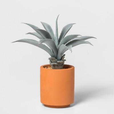 9  x 6  Artificial Aloe Plant In Terra Cotta Pot Green - Project 62™