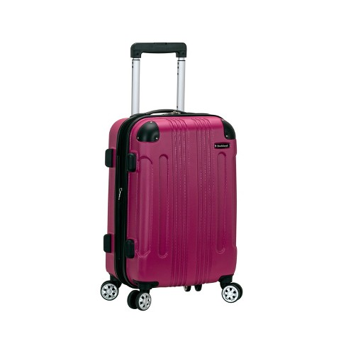 """Rockland Sonic 20"""" Expandable Hardside Carry On Suitcase - Magenta - image 1 of 4"""