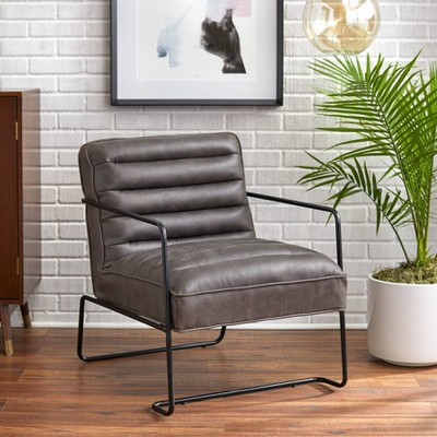 Homer Living Room Chair Gray - Buylateral
