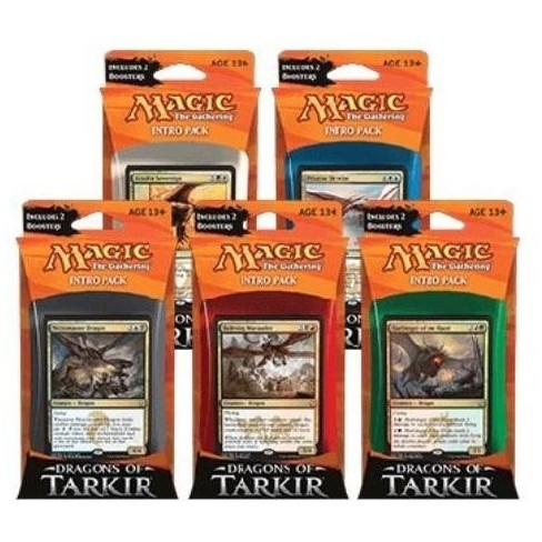 Dragons of Tarkir - Intro Pack Display Box (10 Decks) Collectible Card Game (Box) - image 1 of 1