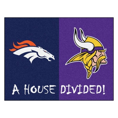 "NFL House Divided Rug 33.75""x42.5"""
