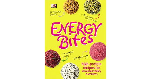 Energy Bites : High-protein Recipes for Increased Vitality & Wellness (Hardcover) (Kate Turner & Annie - image 1 of 1