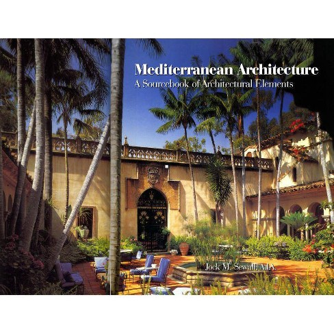 Mediterranean Architecture - by  Jock Sewall (Hardcover) - image 1 of 1