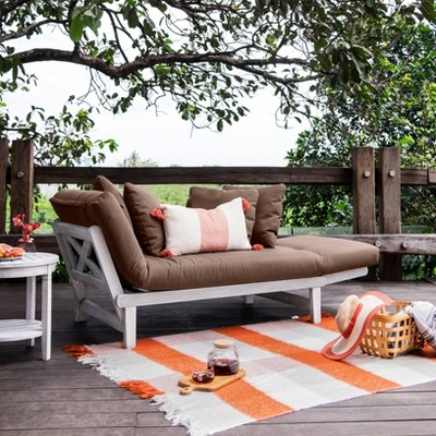 Westlake Outdoor Convertible Sofa Daybed with Cushion - Cambridge Casual