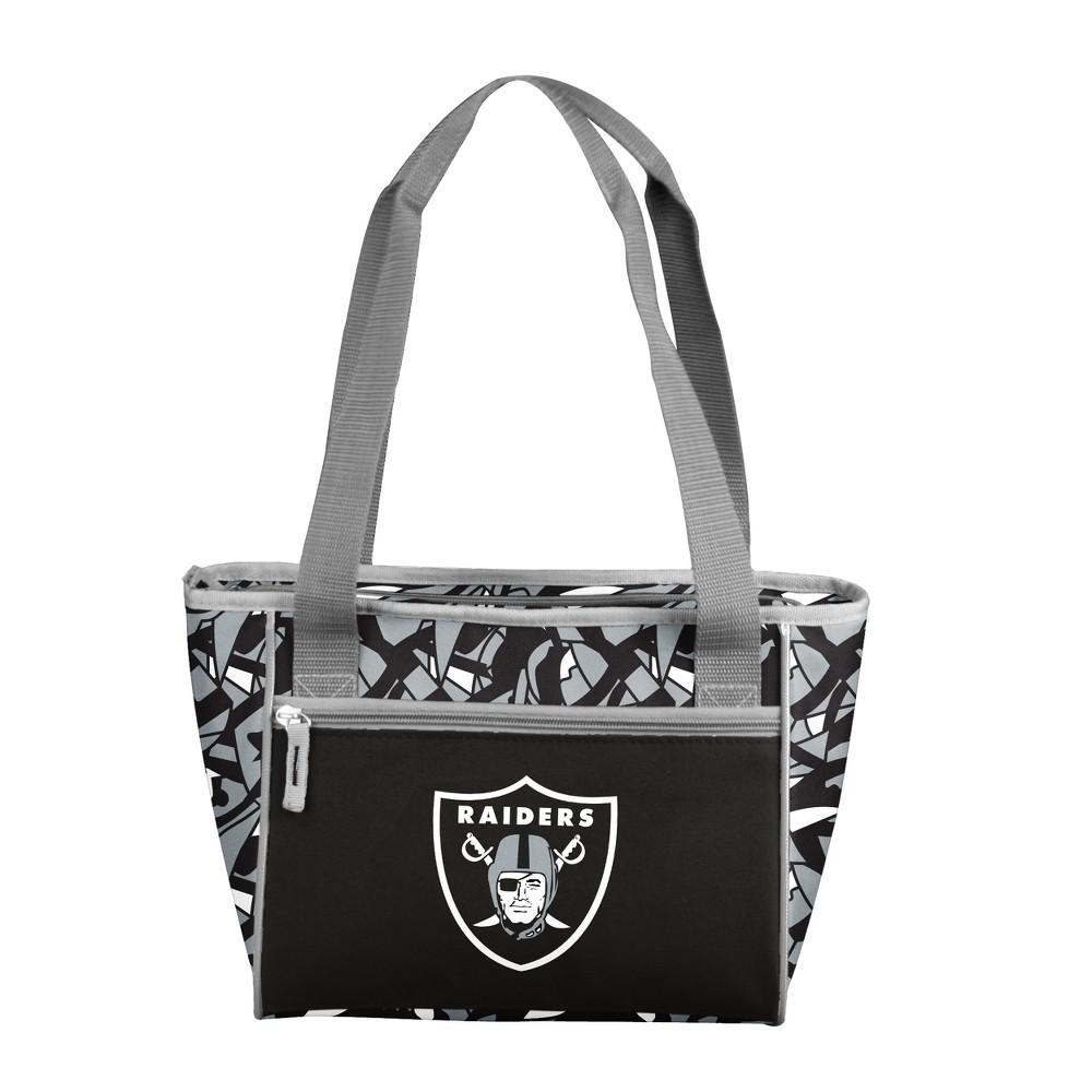 NFLxFIT Oakland Raiders 16-Can Cooler Tote