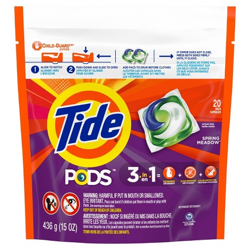 Tide Pods Laundry Detergent Pacs Spring Meadow - image 1 of 4