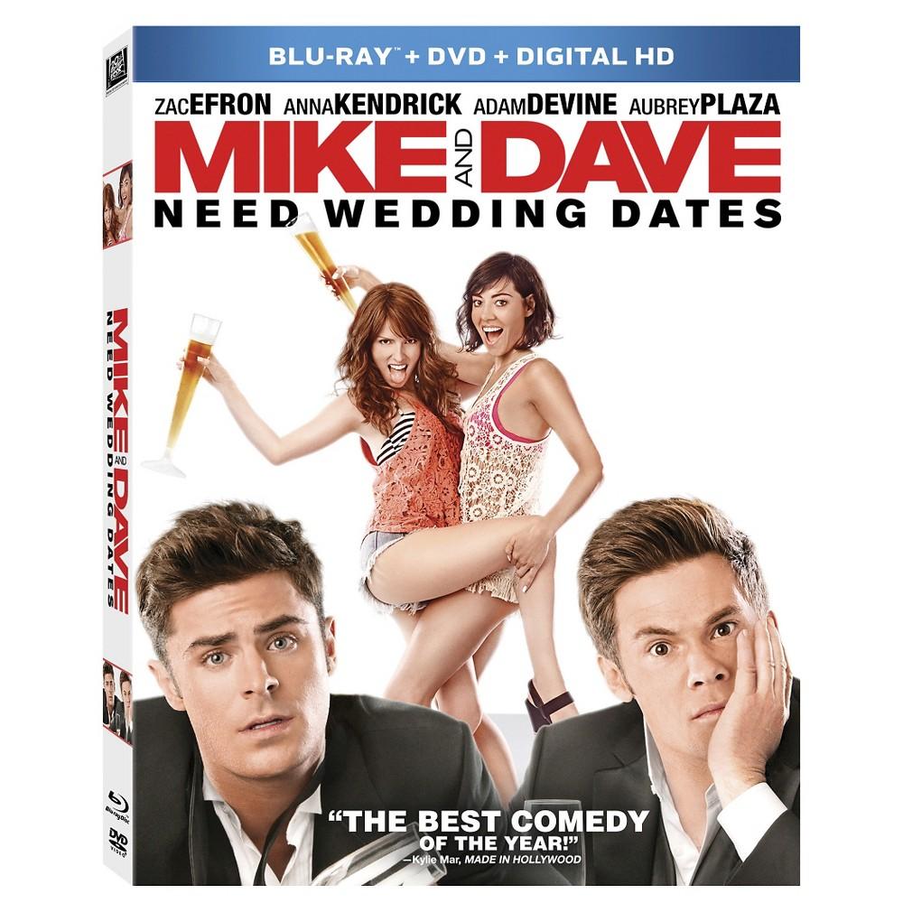 Mike & Dave Need Wedding Dates (Blu-ray + Dvd + Digital)