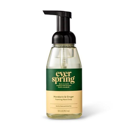 Mandarin & Ginger Foaming Hand Soap - 10 fl oz - Everspring™ - image 1 of 3