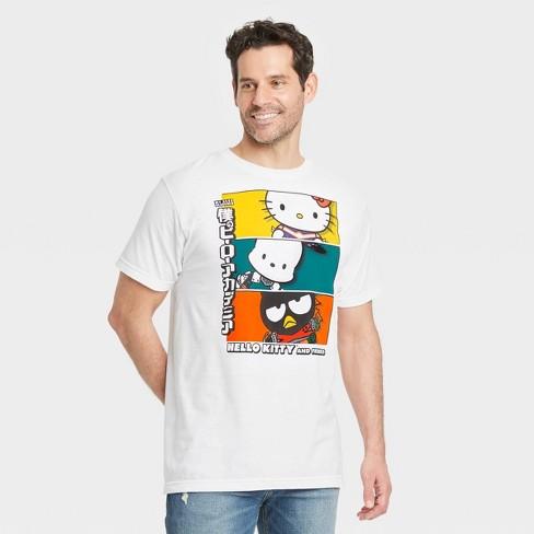 Men's Sanrio Hello Kitty Short Sleeve Graphic T-Shirt - White - image 1 of 2