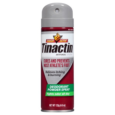 Tinactin Deodorant Powder Spray 4.6oz - image 1 of 4