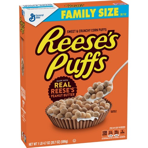 Reese's Puffs Breakfast Cereal - 20.7oz - General Mills - image 1 of 4