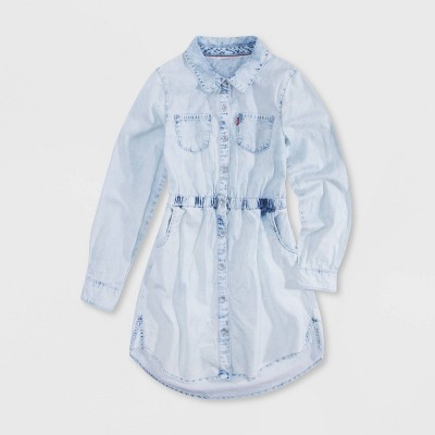 Levi's® Girls' Chambray Dress - Pearl Blue