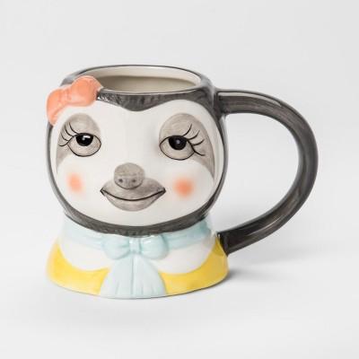 10.5oz Earthenware Sloth Mug - Room Essentials™