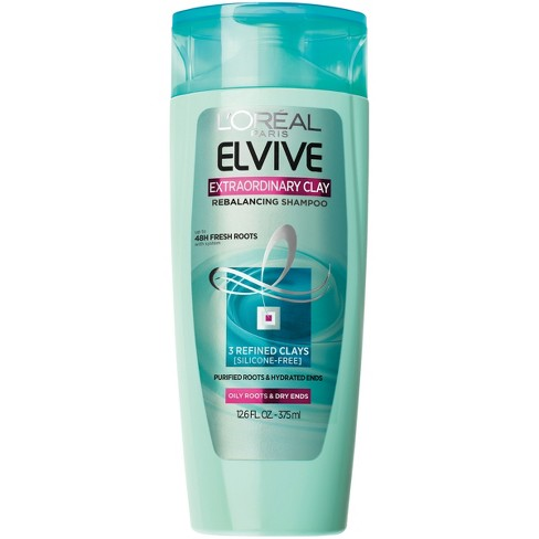 L Oral Paris Elvive Extraordinary Clay Rebalancing Shampoo - 12.6 Fl ... 9cb4fea1a4